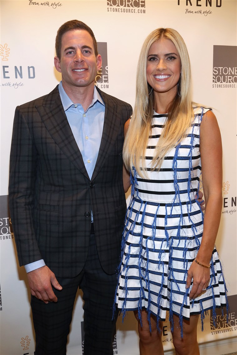 Slika: Tarek and Christina, TV's Favorite House Flippers, Featured at TREND/Stone Source Event in New York