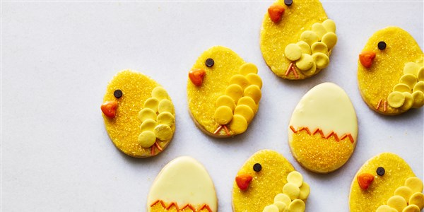 Marta's Easter Chick Cookies