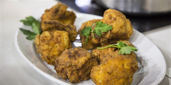 Napos Anderson's Easy Buttermilk Poached and Fried Chicken