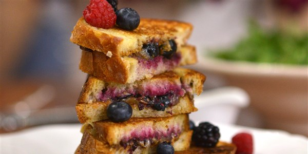 Felnőtt Up PB & J Grilled Cheese