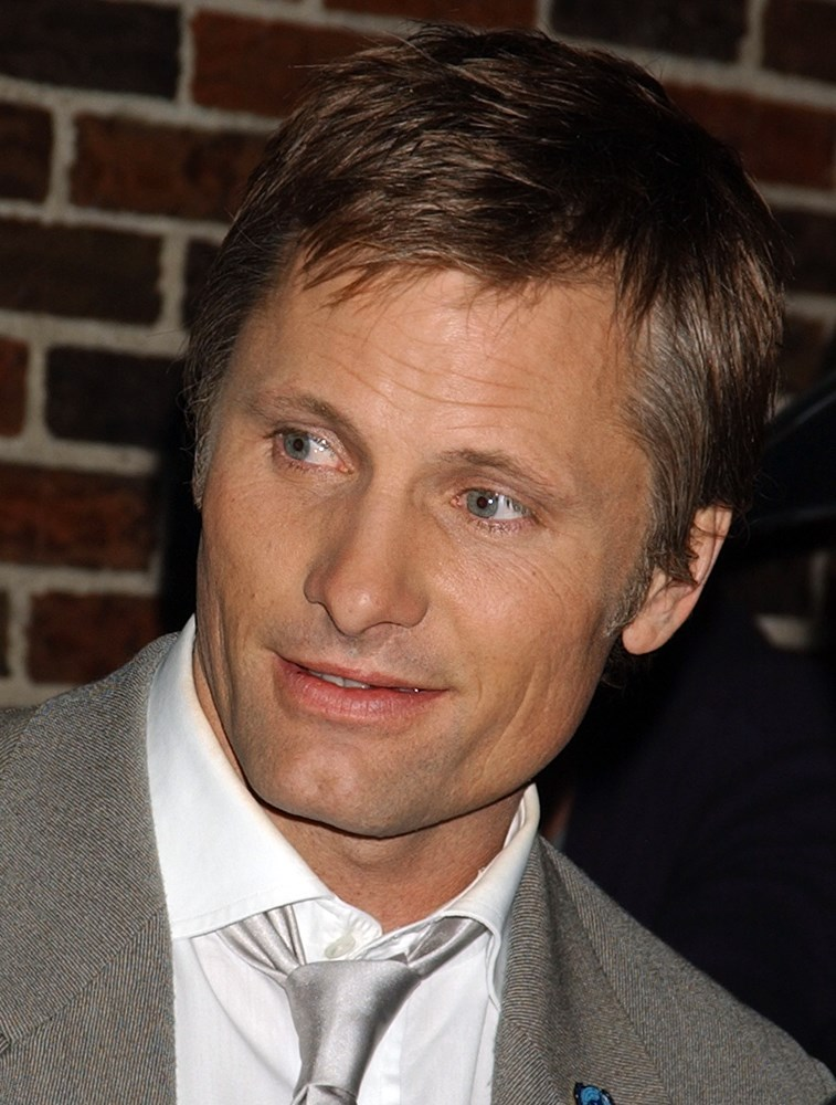Viggo Mortensen at Letterman