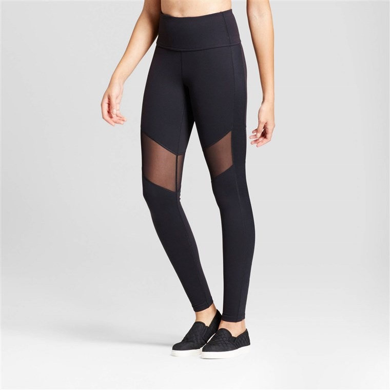 JoyLab Women's Premium High Waist Mesh Leggings