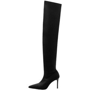 ऊपर the knee boots Mango