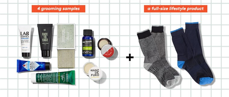 Birchbox Men subscription box