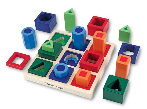 מליסה & Doug Shape Sorting Set