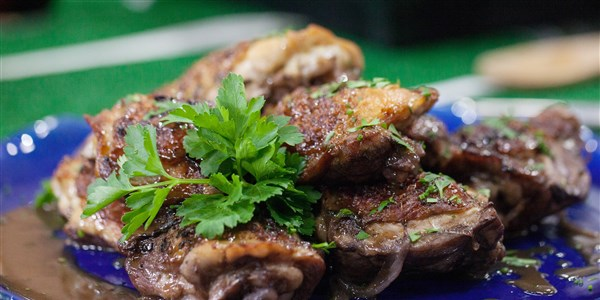 Spice-gumiran Chicken Thighs