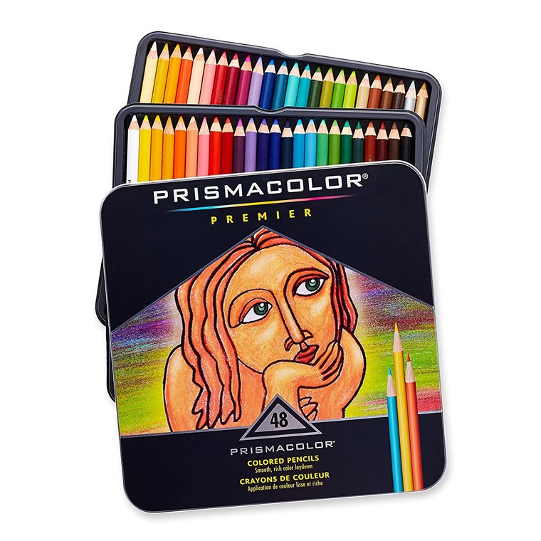 Prismacolor artist's colored pencils
