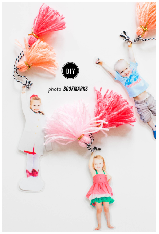 DIY Photo Book Marks