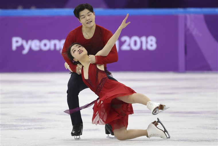 Slika: Maia and Alex Shibutani of the U.S. perform their ice dance free dance routine as part of the team figure skating competition of the 2018 Winter Olympics at the Gangneung Ice Arena in Gangneung, South Korea.