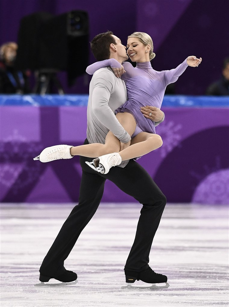 SAD's Alexa Scimeca Knierim and Chris Knierim were paired up in 2012 and married four years later.