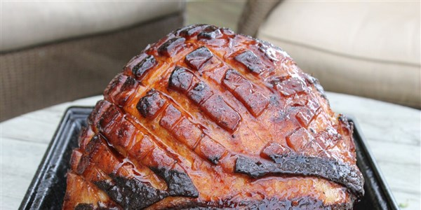 Lako Glazed Ham with Sriracha and Orange Marmalade