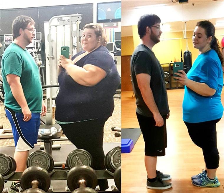 350 lb súlycsökkenés