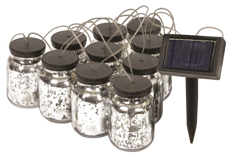 Solarni Mason Jar String Lights