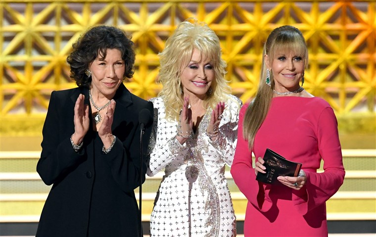 לילי Tomlin, Dolly Parton and Jane Fonda