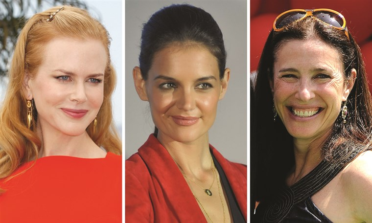 Nicole Kidman, Katie Holmes and Mimi Rogers were all 33 when their marriages to Cruise ended.