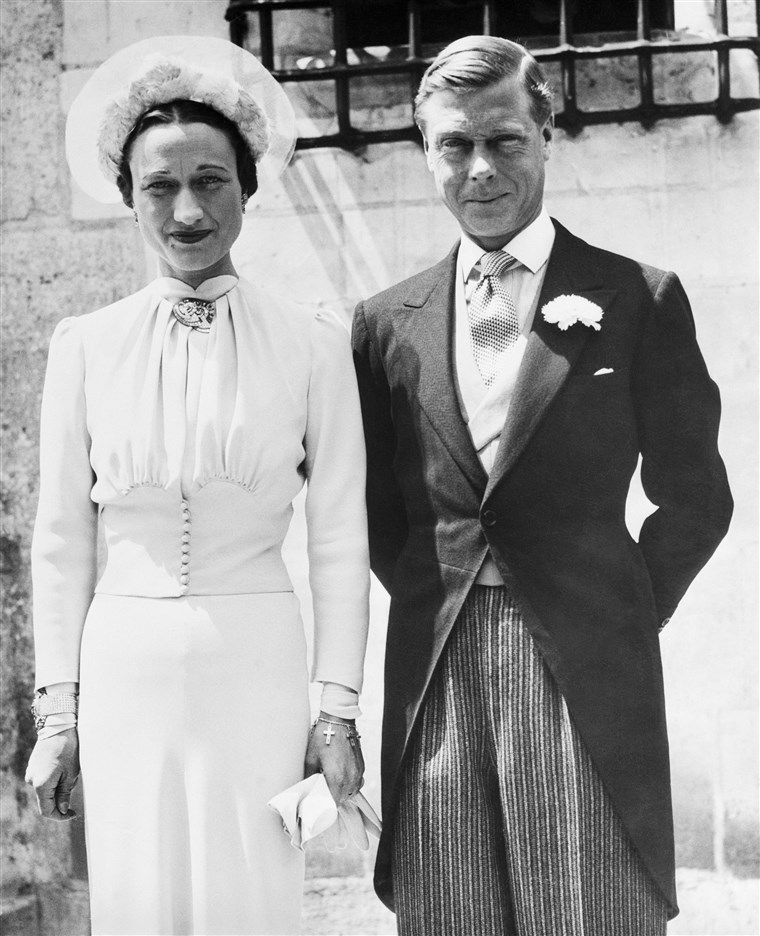 छवि: Wallis Simpson, Duchess of Windsor, to Prince Edward After Their Wedding