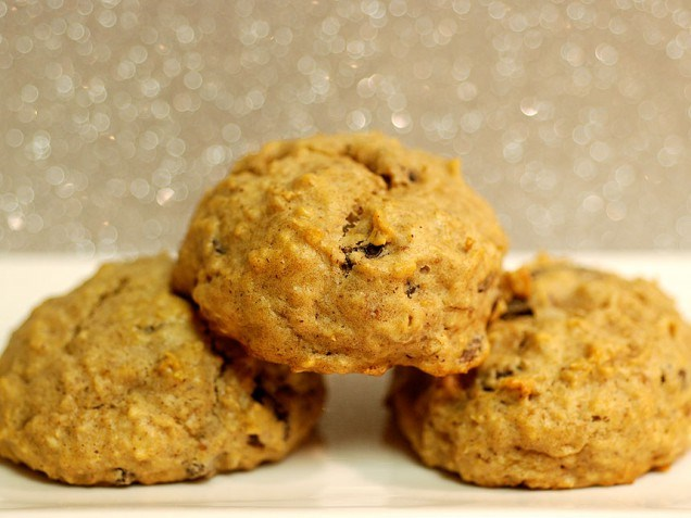 תפוחים oatmeal raisin cookies