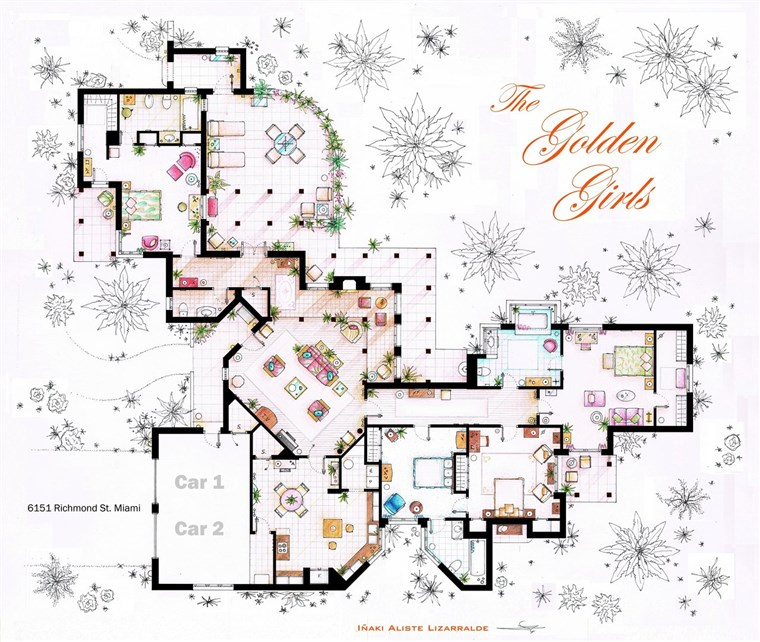 zlatan Girls house floor plan