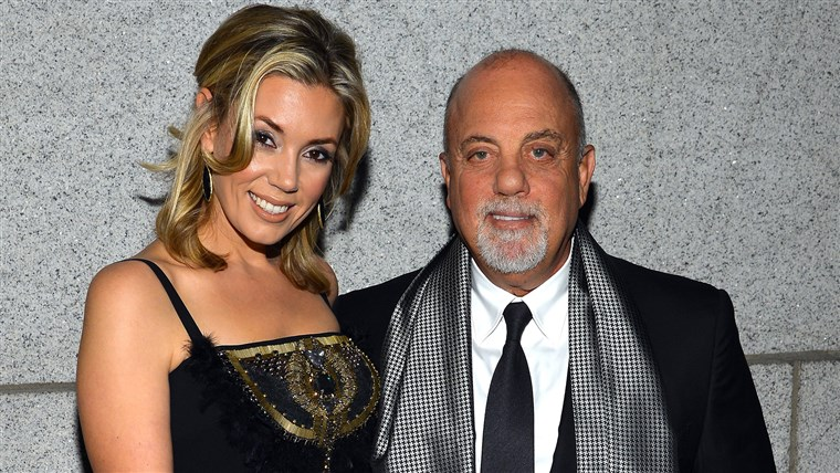 אלכסיס Roderick and Billy Joel in New York in 2013.