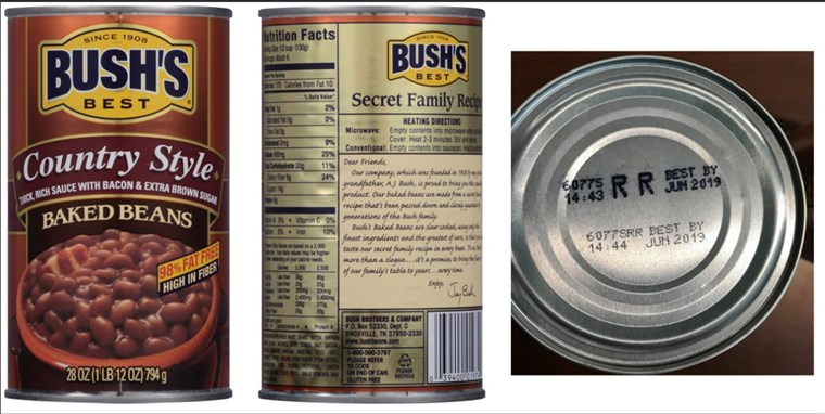 Grm's Baked Beans issues voluntary recall
