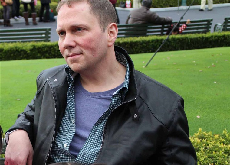 Dav Pilkey, the author of