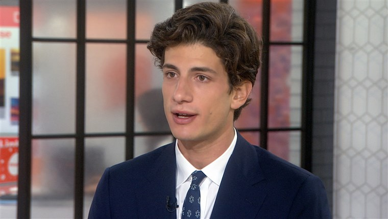 Jack Schlossberg on TODAY