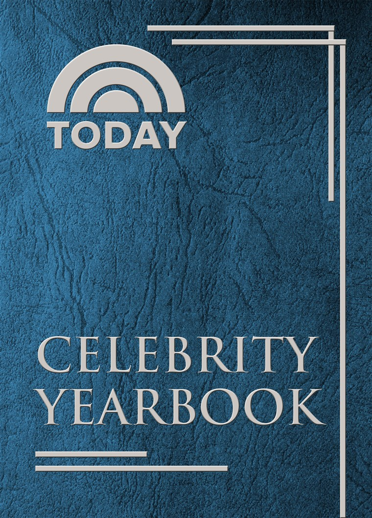 आज celebrity yearbook cover