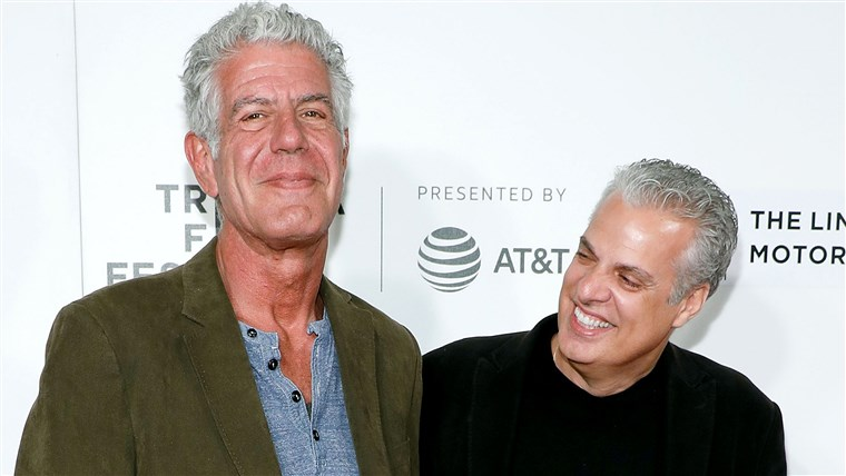 Antonije Bourdain and Eric Ripert