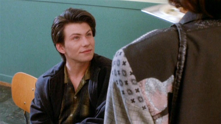 Christian Slater definitely knew how to make an impression in 1988's