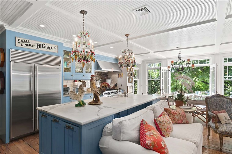 Christie Brinkey's Hamptons home