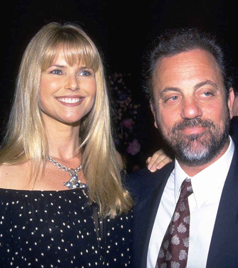 बील्ली Joel and Christie Brinkley