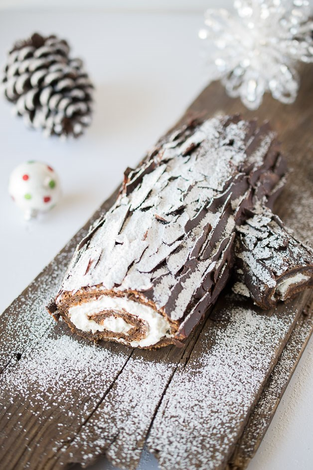 Čokolada yule log by TODAY Food Club member Janette Fuschi