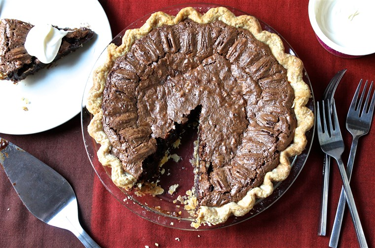 Milost Parisi's Chocolate Pecan Pie recipe
