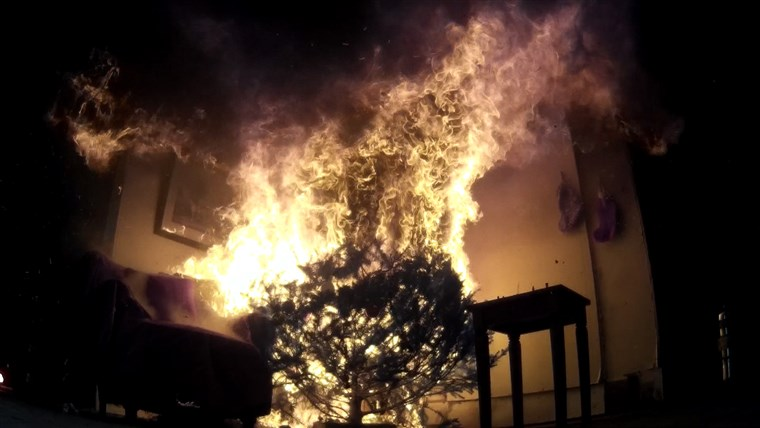 Rossen Reports Christmas tree fires