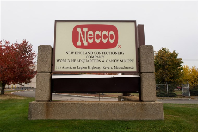 संचालन At The New England Confectionery Co. (Necco) Ahead Of ISM Manufacturing Figures