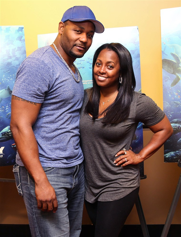 Keshia Knight Pulliam and her husband Ed Hartwell