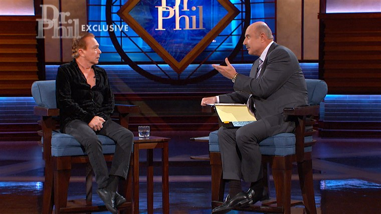 Dr. Phil speaks to David Cassidy