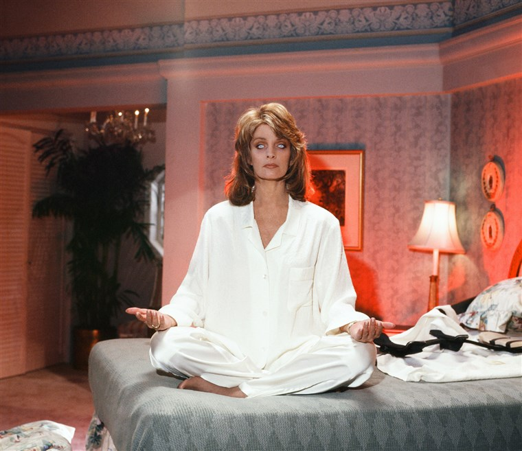 Ona's got more than Bette Davis eyes: Marlena Evans (Deidre Hall) is possessed.