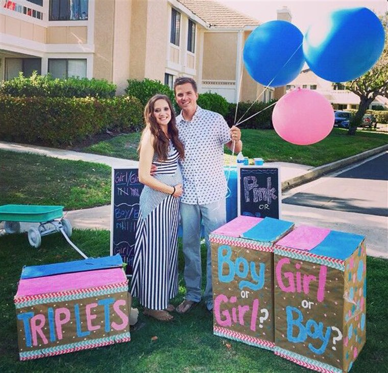 Után struggling with infertility, Desiree and Ryan Fortin had triplets