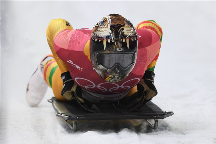 תמונה: Skeleton - Winter Olympics Day 7