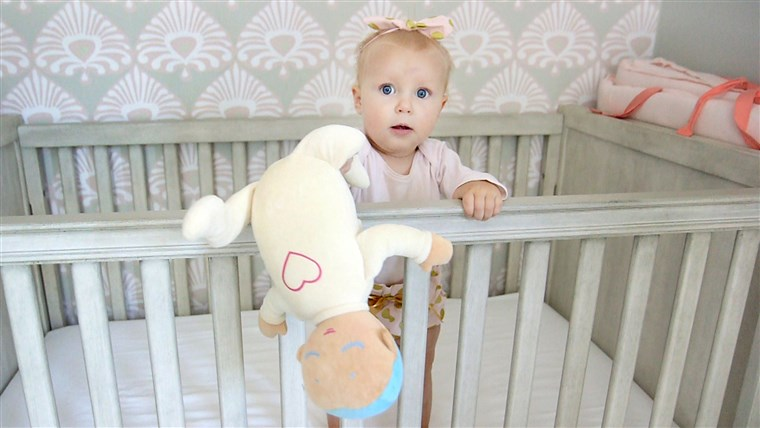 A doll's soft, plushy feel makes it a sweet toy - even if your baby isn't sleeping.