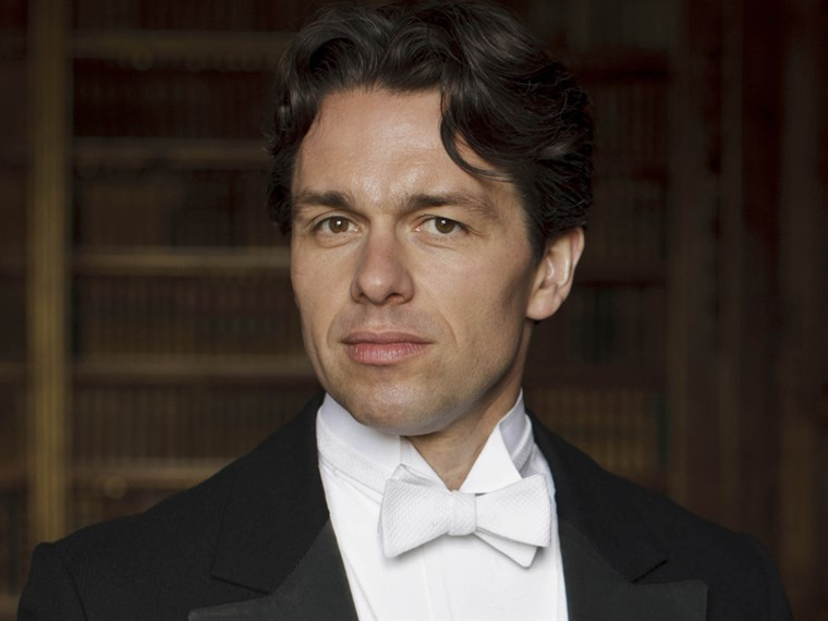 Julian Ovenden as Charles Blake in Downton Abbey.