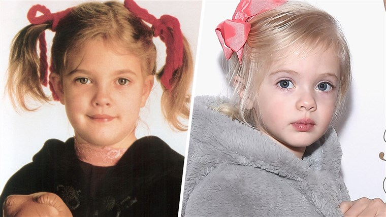 Drew Barrymore and daughter Frankie Barrymore