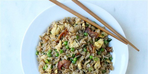 15 minuta Bacon and Egg Fried Rice
