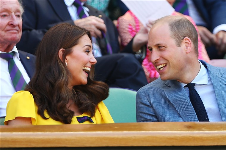 William Kate Wimbledon