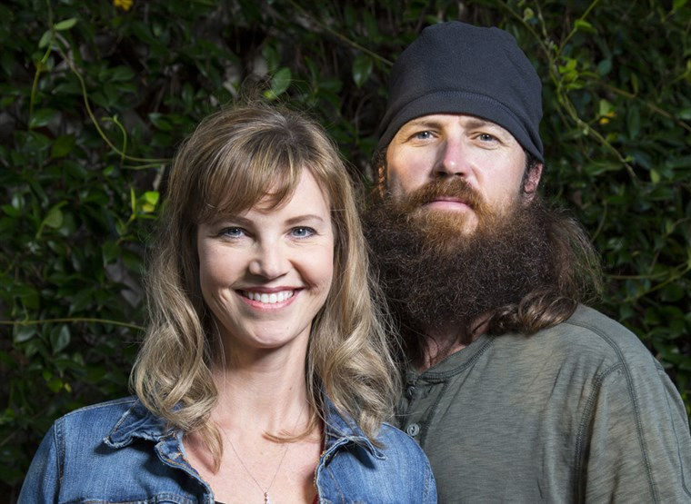 मिस्सी and Jase Robertson of