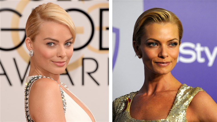 מפורסם Doppelgangers: Jaime Pressly and Margot Robbie