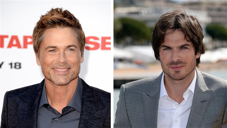מפורסם Doppelgangers: Rob Lowe and Ian Somerhalder