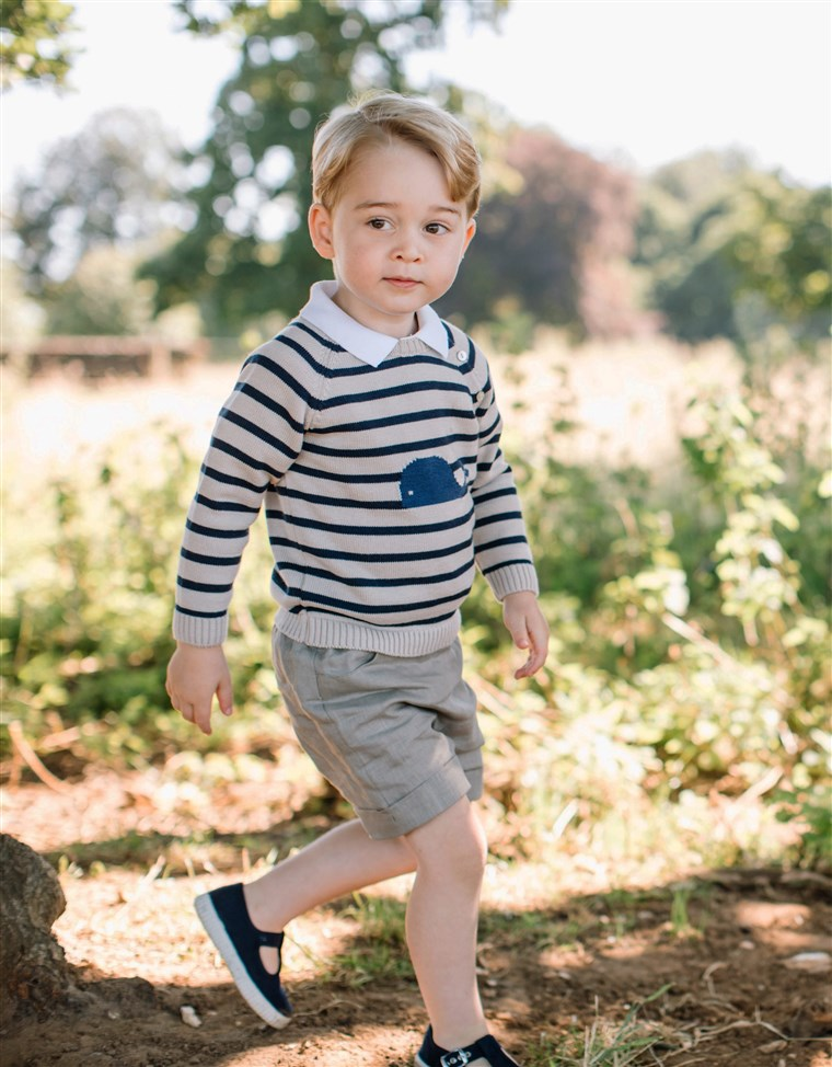 Britannia's Prince George made Tatler's Best Dressed List