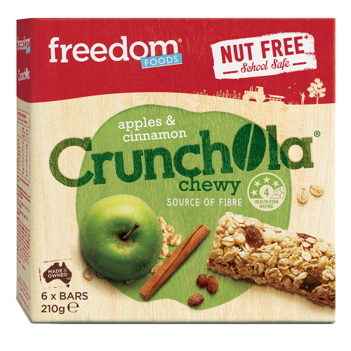 स्वतंत्रता Foods Chewy Crunchola Granola Bar
